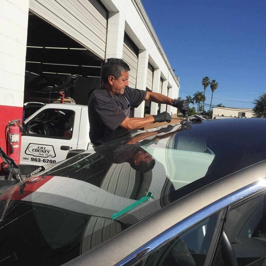 santa barbara auto glass windshield repair.